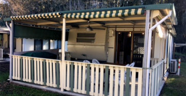 Site 191 – Holiday van and Annexe