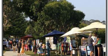 ART ON THE PATH COMMUNITY MARKET- BROULEE!