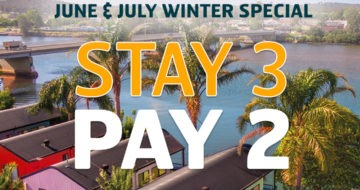 STAY 3 PAY 2 Holiday Special