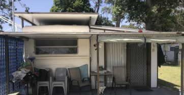 Site 55 – Holiday cabin for sale