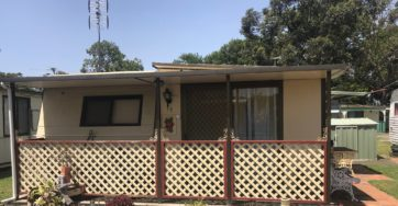 Site 72 – Holiday cabin for sale