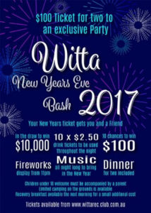 New Years Eve Bash 2017