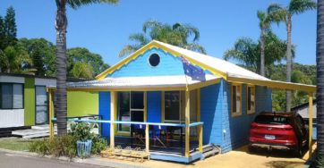 Cabin 100 – Great Aussie Beach Hut!